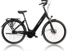 "Devron 28426 28"" E-City 7 Speed 2019 Women Black 49 cm"